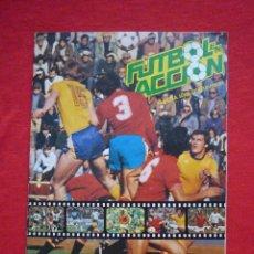 Coleccionismo deportivo: ALBUM DE CROMOS FUTBOL EN ACCIÓN (DANONE, AÑO 1981) INCOMPLETO, CON 42 CROMOS (VER+). Lote 44224826