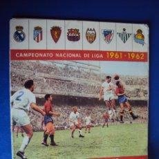 Coleccionismo deportivo: (AL-703)ALBUM CROMOS FUTBOL CAMPEONATO NACIONAL DE LIGA 1961-1962. Lote 44249441