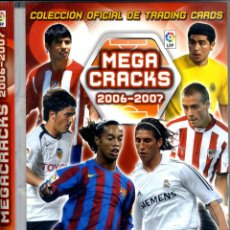 Coleccionismo deportivo: ALBU MEGA-CRACKS INCOMPLETO LIGA 2006-2007 PANINI SPORTS . Lote 44333161