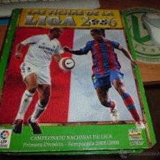 Coleccionismo deportivo: ALBUM LAS FICHAS DE LA LIGA 2006 395 CROMOS DIFERENTES 5 REPES + 60 CROMOS DIF. FICHAS 2007. Lote 44378970