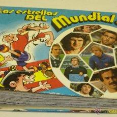 Coleccionismo deportivo: FICHAS SUELTAS LAS ESTRELLAS DEL MUNDIAL ESPAÑA 82 BRUGUERA - FUTBOL -. Lote 129556831
