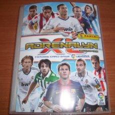 Coleccionismo deportivo: ADRENALYN : ALBUM CROMOS LIGA DE FUTBOL 2012/2013 12/13. Lote 44712273