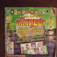 Coleccionismo deportivo: ALBUM CHICLE CAMPEON TEMPORADA 96-97. Lote 44741996