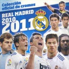 Coleccionismo deportivo: ALBUM REAL MADRID 2010-2011 (PANINI) VACIO. Lote 44826138