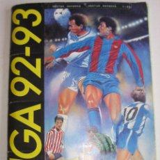 Coleccionismo deportivo: ÁLBUM DE CROMOS ESTE LIGA 92 93 - CAMPEONATO FÚTBOL 1992-1993 - 382 CROMOS PEGADOS - VER FOTOS. Lote 45063279