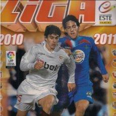 Coleccionismo deportivo: ÁLBUM LIGA 2010/2011 PRIMERA DIVISIÓN. EDICIONES ESTE - PANINI. Lote 45070627