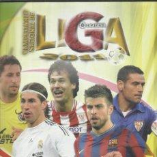Coleccionismo deportivo: ALBUM CON 660 CROMOS CAMPEONATO NACIONAL DE LIGA 2011 BBVA MUNDI CROMO SPORT 2010/2011. Lote 45085914