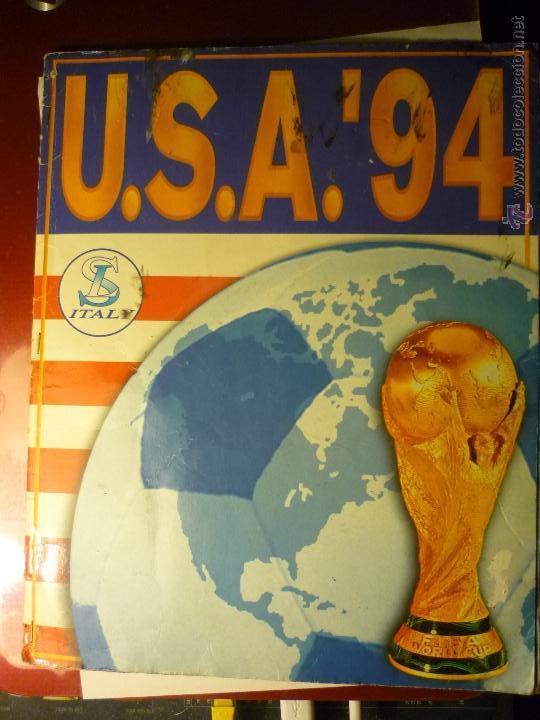 ALBUM MUNDIAL FUTBOL USA 94 --FALTAN 82 CROMOS (Coleccionismo Deportivo - Álbumes y Cromos de Deportes - Álbumes de Fútbol Incompletos)