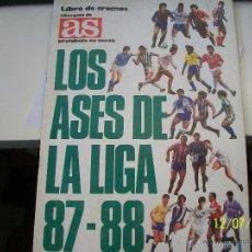Coleccionismo deportivo: ALBUM DE CROMOS AS. LOS ASES DE LA LIGA 87-88. ESTA IMCOMPLETO.. Lote 45122707