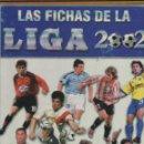 Coleccionismo deportivo: ALBUM LAS FICHAS DE LA LIGA 2002 CASI COMPLETO CON 615 FICHAS. Lote 45147916