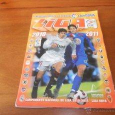 Coleccionismo deportivo: ALBUM DE CROMOS DE LA LIGA DE FUTBOL 2010 2011 EDICIONES ESTE CON 510 CROMOS. Lote 45176968