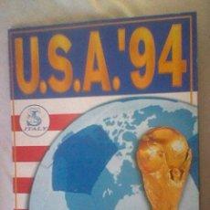Coleccionismo deportivo: ALBUM INCONPLETO A FALTA 14 CROMOS USA 94 ED SL ITALY . Lote 45255953
