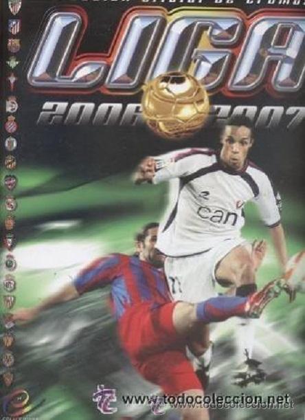 ALBUM DE FUTBOL 2006/07 ESTE - CONTIENE 465 CROMOS (CON 34 FICHAJES, 35 COLOCAS Y 24 BAJAS) (Coleccionismo Deportivo - Álbumes y Cromos de Deportes - Álbumes de Fútbol Incompletos)