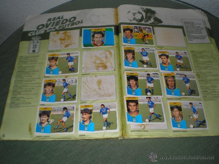 Coleccionismo deportivo: ALBUM LIGA 91-92 DE ESTE - Foto 2 - 68170251