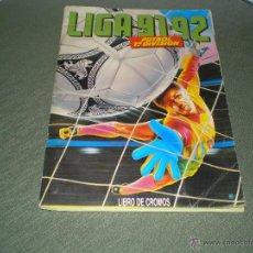 Coleccionismo deportivo: ALBUM LIGA 91-92 DE ESTE. Lote 45296996