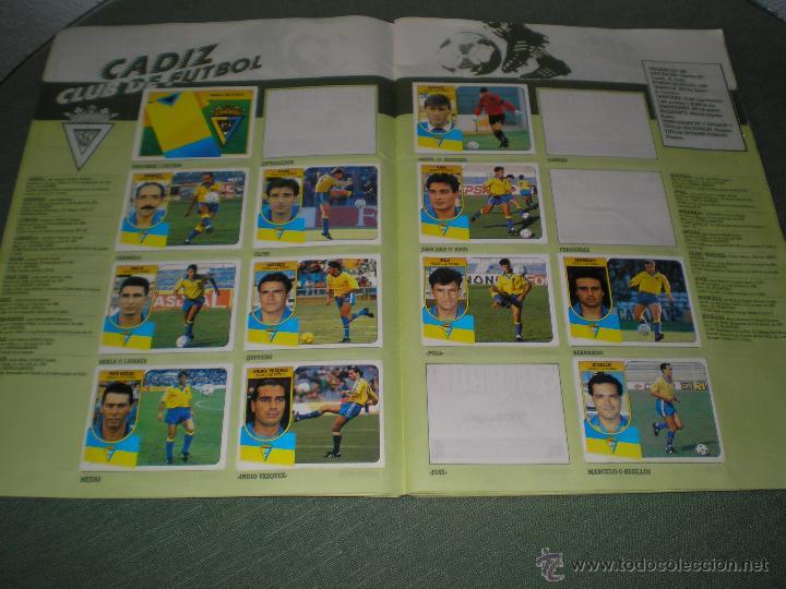 Coleccionismo deportivo: ALBUM LIGA 91-92 DE ESTE - Foto 3 - 45296996