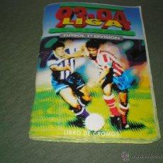 Coleccionismo deportivo: ALBUM LIGA 93-94 DE ESTE. Lote 45297285
