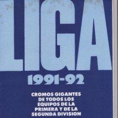 Coleccionismo deportivo: LIGA 1991-92 Y ESCUELA DE FUTBOL GENTO EL MEJOR EXTREMO IZQUIERDO DEL MUNDOE. Lote 45331360