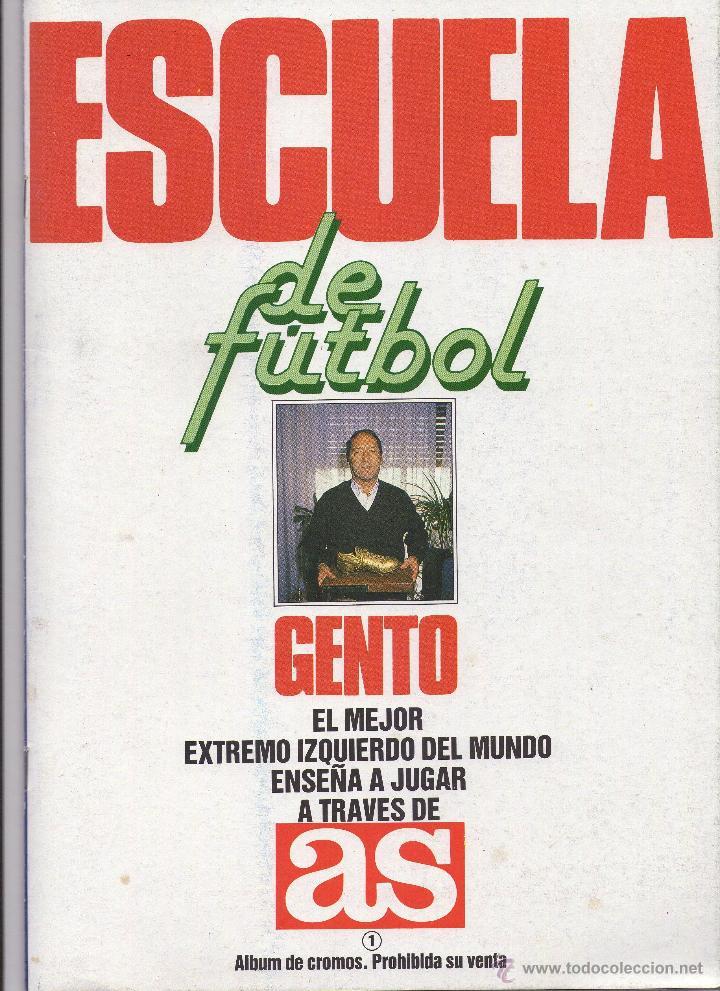 Coleccionismo deportivo: LIGA 1991-92 Y ESCUELA DE FUTBOL GENTO EL MEJOR EXTREMO IZQUIERDO DEL MUNDOE - Foto 2 - 45331360