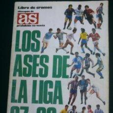 Coleccionismo deportivo: ALBUM FUTBOL LOS ASES DE LA LIGA 87 88 DE AS. Lote 45341496