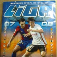 Coleccionismo deportivo: ALBUM CROMOS FUTBOL PANINI ESTE 2007 2008 - CASI COMPLETO - 525 CROMOS TOTAL - 53 DOBLES - 07 08. Lote 45357429