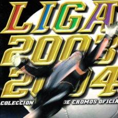 Coleccionismo deportivo: ESTE 2003/04 ÁLBUM MUY NUEVO CON 438 CROMOS. Lote 45426026