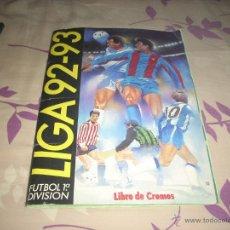 Coleccionismo deportivo: ALBUM DE LA LIGA 1992-93 DE ESTE ,MUY BIEN CONSERVADO. Lote 45526869