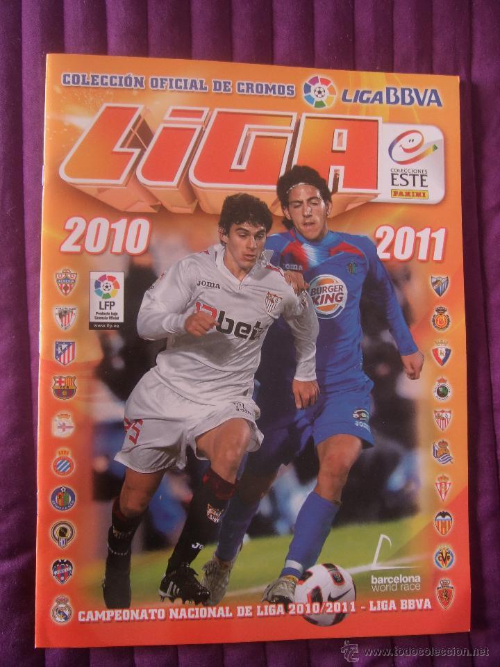 ALBUM VACÍO - LIGA BBVA 2010/2011 - COLECCIONES ESTE (Coleccionismo Deportivo - Álbumes y Cromos de Deportes - Álbumes de Fútbol Incompletos)