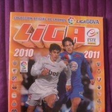 Coleccionismo deportivo: ALBUM VACÍO - LIGA BBVA 2010/2011 - COLECCIONES ESTE. Lote 45614425