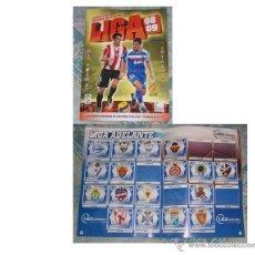 Coleccionismo deportivo: ÁLBUM FÚTBOL EDICIONES ESTE TEMPORADA 2008-2009, CON 298 CROMOS DE 459 (65%). Lote 45618918