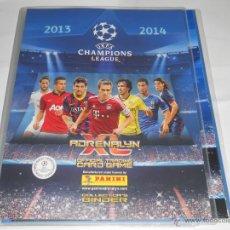 Coleccionismo deportivo: VERSION INT, ALBUM FICHERO VACIO SIN CROMOS ADRENALYN UEFA CHAMPIONS LEAGUE 2013 2014 13 14 PANINI. Lote 49384170