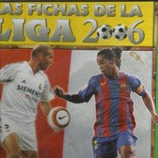 Coleccionismo deportivo: ALBUM DE LAS FICHAS DE LA LIGA DE 2006 CON 427 FICHAS. Lote 45713646