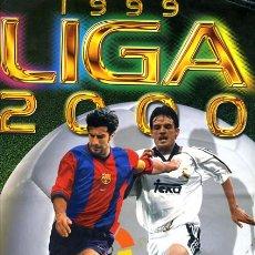 Coleccionismo deportivo: ALBUM FUTBOL LIGA 1999 2000 , ESTE , CON MUCHISIMOS CROMOS ,VER FOTOS ,ORIGINAL, AA. Lote 45729030