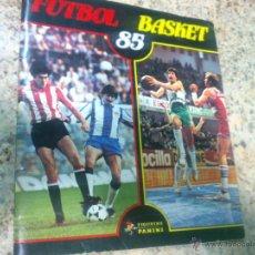 Coleccionismo deportivo: ALBUM DE CROMOS FUTBOL BASKET 85 - PANINI (INCOMPLETO). Lote 45729219