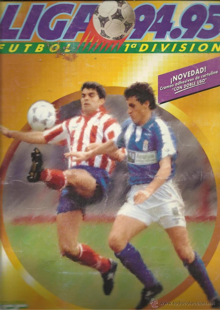 ALBUM FUTBOL LIGA 94 95 EDICIONES ESTE CON 360 CROMOS (Coleccionismo Deportivo - Álbumes y Cromos de Deportes - Álbumes de Fútbol Incompletos)