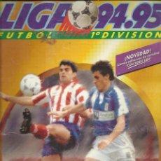 Coleccionismo deportivo: ALBUM FUTBOL LIGA 94 95 EDICIONES ESTE CON 360 CROMOS. Lote 45762173