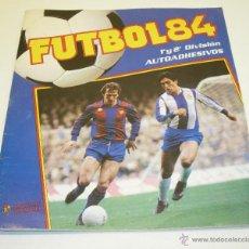 Coleccionismo deportivo: ALBUM CROMOS FUTBOL 84 1ª Y 2ª DIVISIÓN PANINI CON 84 CROMOS. Lote 45897668