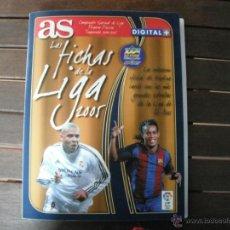 Coleccionismo deportivo: ALBUM AS 2005. LAS FICHAS DE LA LIGA. CON 281 FICHAS APROX.. Lote 45993504