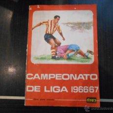 Coleccionismo deportivo: ALBUM FUTBOL CAMPEONATO DE LIGA 1966/67. DISGRA (FHER). COMPLETO. VER DESCRIPCION INTERIOR. Lote 46017071
