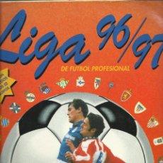Coleccionismo deportivo: ALBUM LIGA 96/97 DE PANINI CON 349 CROMOS. Lote 46048295