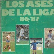 Coleccionismo deportivo: ALBUM A FALTA DE TRES Nº 8,86 Y 234 DE LOS ASES DE LA LIGA 86/87 . Lote 46081078