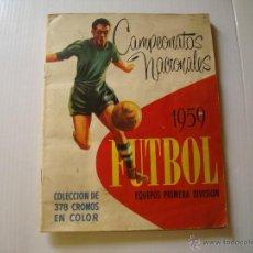 Coleccionismo deportivo: RUIZ ROMERO CAMPEONATOS NACIONALES 1959 . Lote 46193648