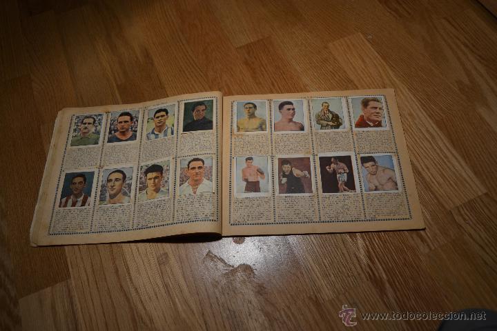 Coleccionismo deportivo: Album Cromo Estudiantil nº1 año 1941 Ver fotos explicaciones interiores CASI COMPLETO FALTAN 35 RARO - Foto 7 - 46430575