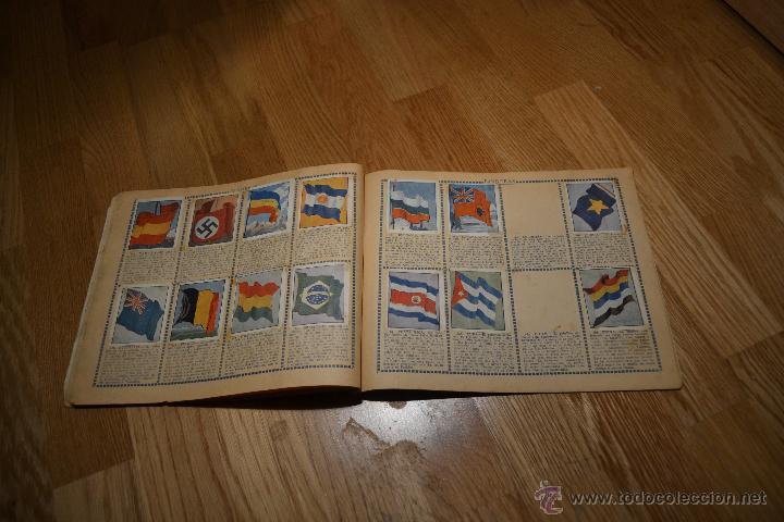 Coleccionismo deportivo: Album Cromo Estudiantil nº1 año 1941 Ver fotos explicaciones interiores CASI COMPLETO FALTAN 35 RARO - Foto 13 - 46430575