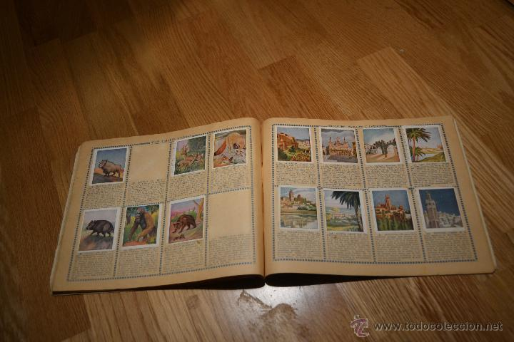Coleccionismo deportivo: Album Cromo Estudiantil nº1 año 1941 Ver fotos explicaciones interiores CASI COMPLETO FALTAN 35 RARO - Foto 15 - 46430575