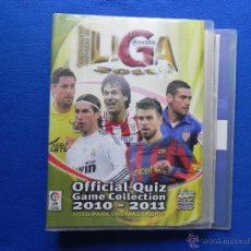 Coleccionismo deportivo: ** ALBUM DE CROMOS OFFICIAL QUIZ GAME COLLECTION 2010-2011 **. Lote 46482124