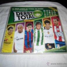 Coleccionismo deportivo: DERBY TOTAL 2005-06.PANINI.FALTA 40 DE 240 CROMOS. Lote 46497370