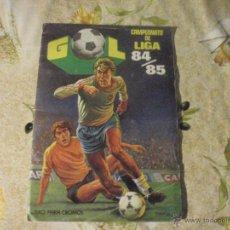 Coleccionismo deportivo: ALBUM DE CROMOS DE FÚTBOL EDITORIAL MAGA LIGA 1984-85. CASI COMPLETO. Lote 46502659
