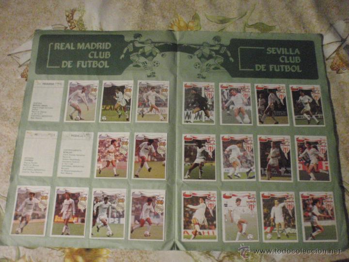 Coleccionismo deportivo: ALBUM de cromos de fútbol EDITORIAL MAGA LIGA 1984-85. CASI COMPLETO - Foto 4 - 46502659
