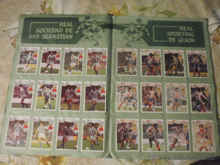 Coleccionismo deportivo: ALBUM de cromos de fútbol EDITORIAL MAGA LIGA 1984-85. CASI COMPLETO - Foto 7 - 46502659